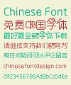Encounter (Near) Chinese Font-Simplified Chinese