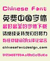 Fat girl bowknot Chinese Font-Simplified Chinese