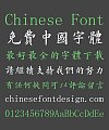 Cool Huang Regular Script Chinese Font(Prohibit commercial use) -Traditional Chinese