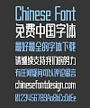 Zao Zi Gong Fang High Quality Bold Figure(Normal Font) Chinese Font-Simplified Chinese