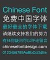 Hua Wen Thin Bold Figure Chinese Font – Simplified Chinese