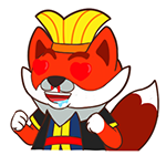 21 35 Fox devil emoji gifs to download fox emoticons fox emoji