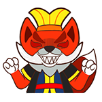 33 35 Fox devil emoji gifs to download fox emoticons fox emoji
