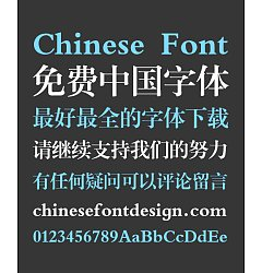 Permalink to Sharp Song (Ming) Typeface Chinese Font -Simplified Chinese Fonts