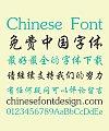 Sharp Font library Regular Script And Semi-Cursive Script Chinese Font-Simplified Chinese Fonts