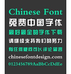Permalink to Chasing The Waves Thick Song (Ming) Typeface Chinese Font-Simplified Chinese Fonts