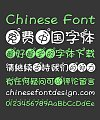 Aa Pisces Bubble Chinese Font-Simplified Chinese Fonts