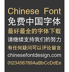 Permalink to Sharp (CloudHeiTiGBK)Bold Figure Chinese Font-Simplified Chinese Fonts