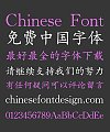 Sharp(CloudKaiTiGBK) Regular Script Chinese Font-Simplified Chinese Fonts