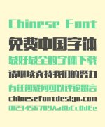 Take off&Good luck Dream Bold Figure Chinese Font-Simplified Chinese Fonts