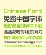 Zao Zi Gong Fang(Font manual mill) Cube Bold Figure Chinese Font -Simplified Chinese