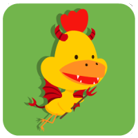chinesefontdesign.com 2017 01 31 15 35 59 40 Lovely big mouth chicken emoji free download emoticons
