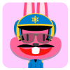 chinesefontdesign.com 2017 02 02 09 22 24 100 Lovely pink rabbit emoji free download