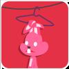 chinesefontdesign.com 2017 02 02 09 22 26 100 Lovely pink rabbit emoji free download