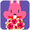 chinesefontdesign.com 2017 02 02 09 22 27 1 100 Lovely pink rabbit emoji free download