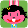 chinesefontdesign.com 2017 02 02 09 22 30 1 100 Lovely pink rabbit emoji free download