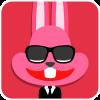 chinesefontdesign.com 2017 02 02 09 22 32 100 Lovely pink rabbit emoji free download