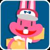 chinesefontdesign.com 2017 02 02 09 22 34 2 100 Lovely pink rabbit emoji free download