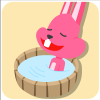 chinesefontdesign.com 2017 02 02 09 22 35 1 100 Lovely pink rabbit emoji free download