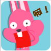 chinesefontdesign.com 2017 02 02 09 22 35 100 Lovely pink rabbit emoji free download