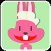 chinesefontdesign.com 2017 02 02 09 22 38 1 100 Lovely pink rabbit emoji free download