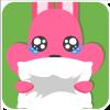 chinesefontdesign.com 2017 02 02 09 22 42 2 100 Lovely pink rabbit emoji free download