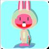 chinesefontdesign.com 2017 02 02 09 22 46 2 100 Lovely pink rabbit emoji free download