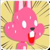 chinesefontdesign.com 2017 02 02 09 22 47 1 100 Lovely pink rabbit emoji free download