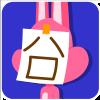 chinesefontdesign.com 2017 02 02 09 22 47 100 Lovely pink rabbit emoji free download