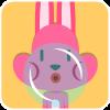 chinesefontdesign.com 2017 02 02 09 22 48 2 100 Lovely pink rabbit emoji free download
