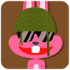 chinesefontdesign.com 2017 02 02 09 22 52 1 100 Lovely pink rabbit emoji free download