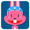 chinesefontdesign.com 2017 02 02 09 22 56 1 100 Lovely pink rabbit emoji free download