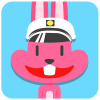 100 Lovely pink rabbit emoji free download