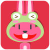 chinesefontdesign.com 2017 02 02 09 22 59 100 Lovely pink rabbit emoji free download