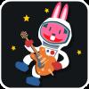 chinesefontdesign.com 2017 02 02 09 23 01 1 100 Lovely pink rabbit emoji free download