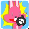 chinesefontdesign.com 2017 02 02 09 23 06 100 Lovely pink rabbit emoji free download