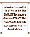 WOODCUTTER CROSS Font Download