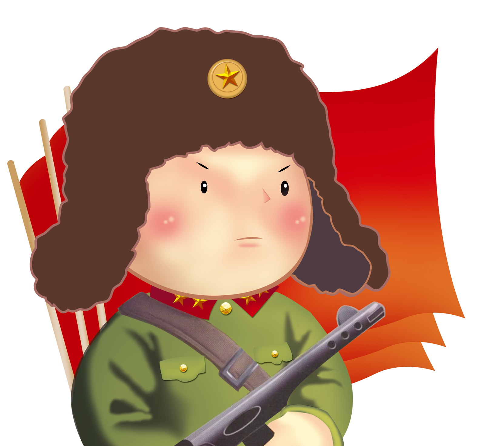 Lei feng's spirit -  China PSD File Free Download