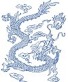 The Chinese loong carving patterns CorelDRAW Vectors CDR Free Download