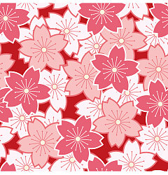 Permalink to Pink cherry blossoms vector background – China Illustrations Vectors AI ESP