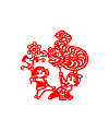 Loong dance Loong parade China Illustrations Vectors AI ESP