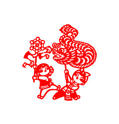 Permalink to Loong dance Loong parade China Illustrations Vectors AI ESP