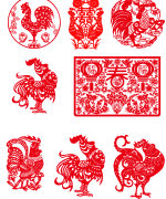 43 chickens paper-cut vector diagram  Illustrations Vectors AI ESP