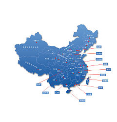 Permalink to Simple map of China – PSD File Free Download