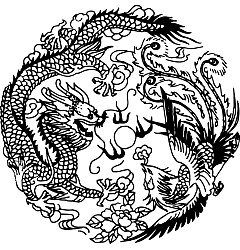 Permalink to Loong and Phoenix Patterns Chinese Auspicious Decorative Patterns –  China Illustrations Vectors AI ESP CDR Free Download