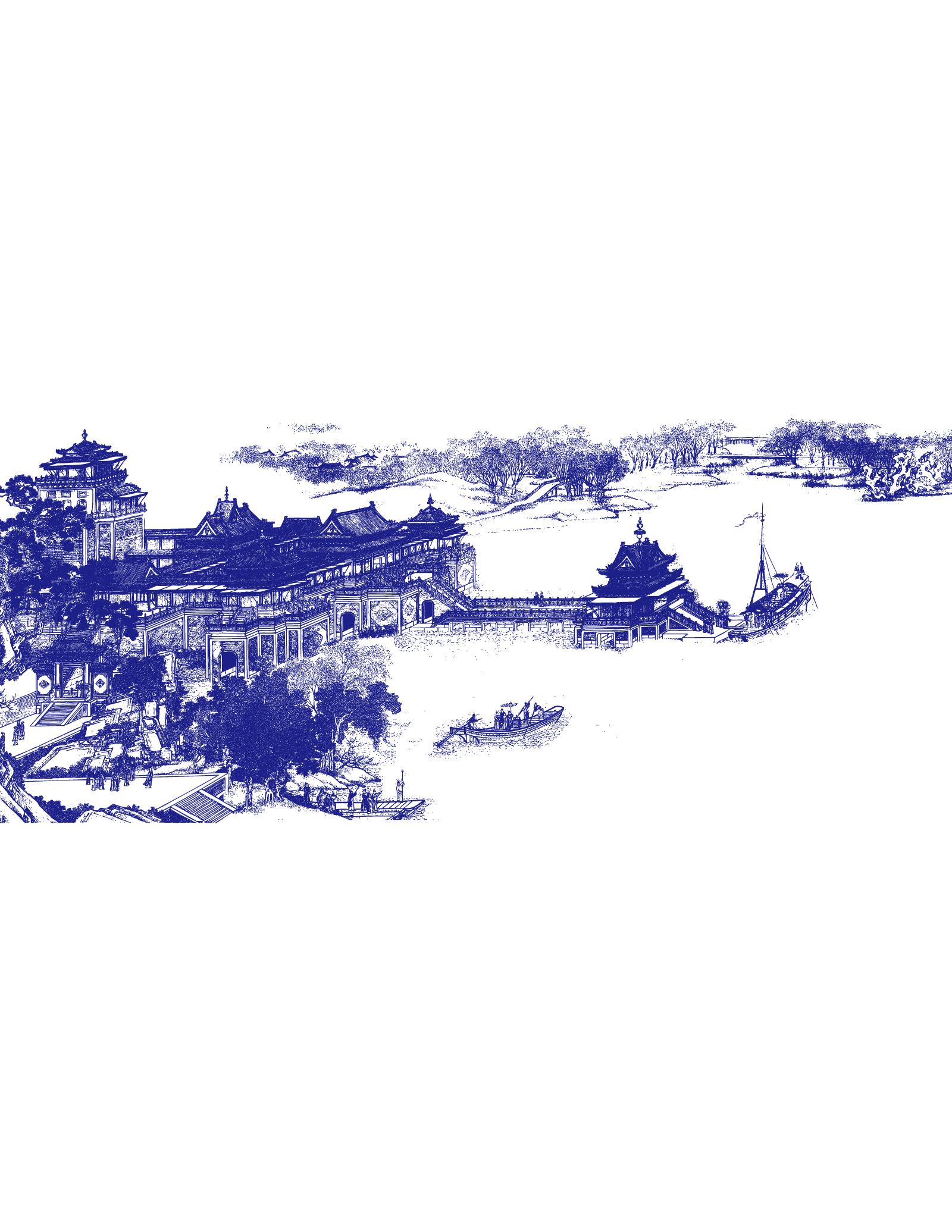 Riverside Scene at Qingming Festival Picture vector material - China Illustrations Vectors AI ESP Free Download