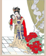 Graceful Chinese ancient ladies image – China Illustrations Vectors AI ESP Free Download #.2