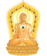 A gold delicate Buddha (Buddha statue) vector material –  China Illustrations Vectors AI ESP