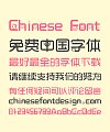 Fashion Medium height(cartoon) Chinese Font-Simplified Chinese Fonts