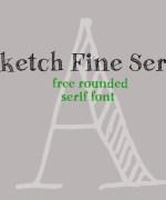 Sketch Fine Serif Font Download